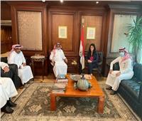 وزيرة التعاون الدولي تبحث تعزيز علاقات التعاون الاقتصادي مع الجانب السعودي