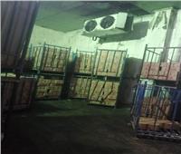 ضبط ٢ طن لحوم فاسدة بمصنع في العاشر من رمضان