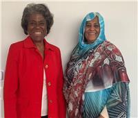 وزيرة خارجية السودان: نريد دعم واشنطن بأزمة سد النهضة