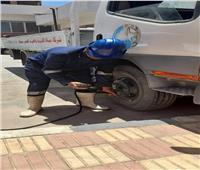 «مياه سوهاج» تجري أعمال الصيانة الشاملة لجميع المعدات