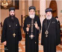 البابا تواضروس يستقبل أسقف كنائس السلام والحرفيين