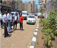جولة ميدانية لمحافظ الدقهلية لمتابعة أعمال النظافة بالشوارع