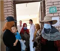 قافلة طبية وتنموية من جامعة الزقازيق بقرية الرست بصان الحجر