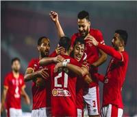 الدوري المصري  صلاح محسن يسجل للأهلي الهدف الأول في شباك «المقاولون»