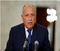 شكري: رد فعل مصر أمام الملء الأول للسد الإثيوبي اتسم بضبط النفس