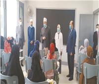 تطوير الوافدين يفتتح مدرسة الإمام الطيب لحفظ القرآن