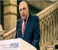 شكري يطالب مجلس الأمن بتبني المشروع التونسي حول سد النهضة