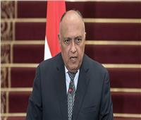وزير الخارجية: مصر ستدافع عن مصالح شعبها بكل الوسائل المتاحة
