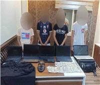 ضبط المتهمين بسرقة أحد الشركات بمدينة نصر