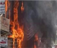 السيطرة على حريق «عصارة قصب» بقنا
