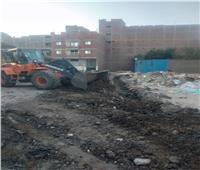 وقف أعمال حفروبناء بحي العامرية غرب الإسكندرية