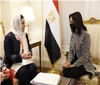 مايا مرسي تلتقي بوزيرة شؤون المرأة بأفغانستان