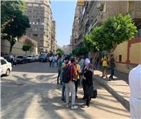 توزيع «كمامة وكيس جل» على طالبات مدرسة عابدين الثانوية