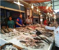 انخفاض أسعار الأسماك بسوق العبور السبت ١٠يوليو