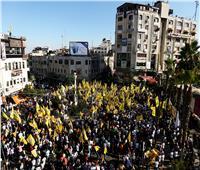 آلاف الفلسطينيين يشاركون في مسيرة برام الله دعمًا للقدس والأسرى