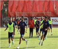 الدوري الممتاز| الأهلي يختتم استعداداته لمباراة المقاصة