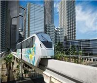 تعمل بدون سائق وتنقل 43 ألف راكب في الساعة.. 10 مزايا لقطارات المونوريل