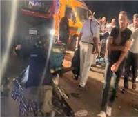 إصابة 7 أشخاص في حادث مروع بالطريق الصحراوي بالنوبارية