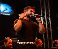 أحمد سعد يشعل حفل بنها بحضور كبير  صور
