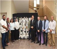 رئيس جامعة الأقصر يشهد تحكيم مشروعات التخرج بكلية الفنون الجميلة