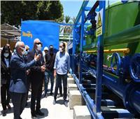 افتتاح محطة مياه الشرب بقرية القلمينا في قنا بعد تجديدها