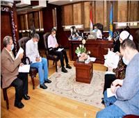 محافظ الغربية يعقد اجتماعا مع وحدة «حياة كريمة» لمتابعة تنفيذ المشروعات