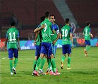 الدوري المصري  المقاصة يسجل الهدف الأول في شباك الأهلي