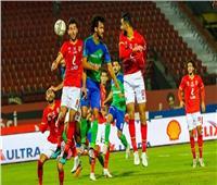 الدوري المصري   التعادل الإيجابي بين «المقاصة والأهلي» في الشوط الأول
