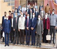 تدشين أول وحدةلإنتاج المستحضرات ومواد التعقيم في جامعة السادات
