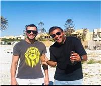 بعد وفاته غرقا.. الشامي وعزيز الشافعي ينعيان شقيق رامي صبري