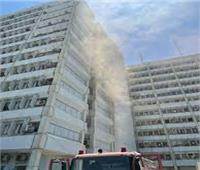 اندلاع حريق داخل مبنى وزارة الصحة العراقية| فيديو