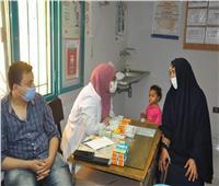 جامعة كفرالشيخ تنظم قافلة طبية في «بني بكار» بمطوبس