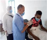 الكشف على 1315 مريض بقافلة علاجية بقرية «منشأة النصر» بالدقهلية