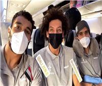 بعثة منتخب اليد تصل مطار القاهرة قادمة من ألمانيا