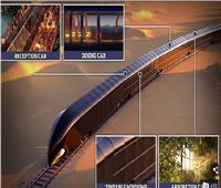 قطار الخيال العلمي أصبح حقيقة بـ 350 مليون دولار| صور