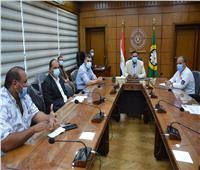 أول اجتماع للجهاز الجديد للنظافة والتجميل للمنصورة وضواحيها