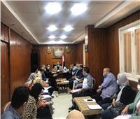 اجتماع لمتابعة تطبيق الإجراءات الاحترازية ومكافحة العدوي بـ«صحة الغربية»
