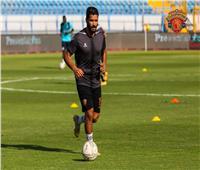 بعد التعافي من الإصابة.. صالح جمعة يقترب من العودة لتدريبات سيراميكا