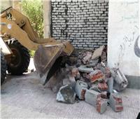 إزالة 3 مخالفات بناء في بني مزار بالمنيا