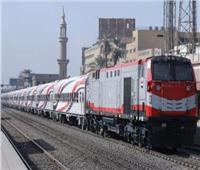 تأخر حركة القطارات على خط «شبين القناطر - الزقازيق - المنصورة» 35 دقيقة