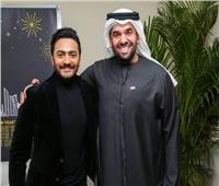 تامر حسني: كان نفسي أغني «لقيت الطبطبة» وحسين الجمسي أستاذ كبير| فيديو