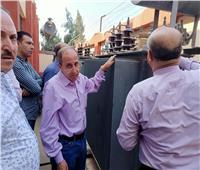 «كهرباء القناة» تحل مشكلة انخفاض الجهد بأنشاص البصل في الشرقية