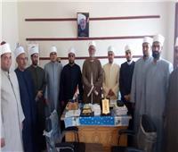 قافلة مجمع البحوث الإسلامية تواصل فعالياتها الدعوية بمحافظة الأقصر