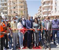 افتتاح طريق كورنيش النيل بمدينة فارسكور في دمياط