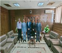 «شوشة» يستقبل أعضاء البرنامج الرئاسي بشمال سيناء