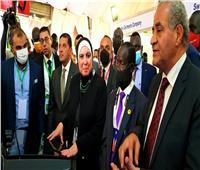 وزيرا «التجارة والتموين» يفتتحان معرض «صنع في مصر» بمدينة جوبا