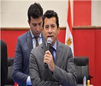 وزير الرياضة يشكر الرئيس السيسي: دعمه للرياضيين غير محدود