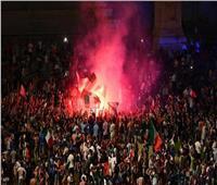 عقب فوزهم باليورو.. صراخ المشجعين الإيطاليين تسبب في زلزال بروما