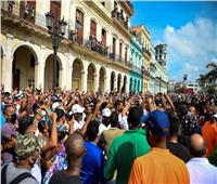 سقوط أول قتيل بتظاهرات في كوبا ضد الحكومة