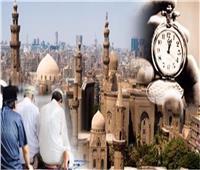 مواقيت الصلاة بمحافظات مصر والعواصم العربية الأربعاء 14 يوليو